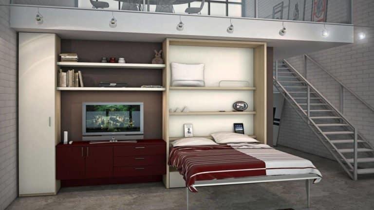 lit armoire blanc