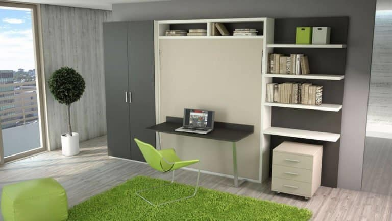 armoire lit escamotable bureau