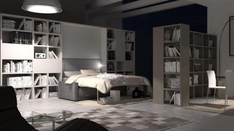 armoire lit canapé escamotable