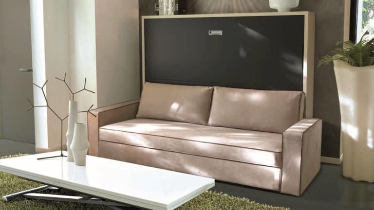 lit escamotable avec canapé