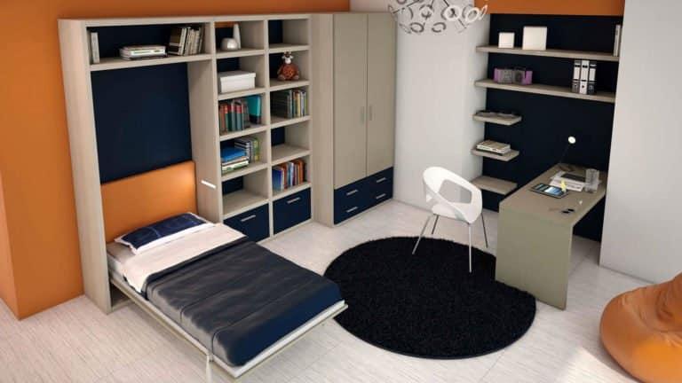 lit escamotable une place ouvert
