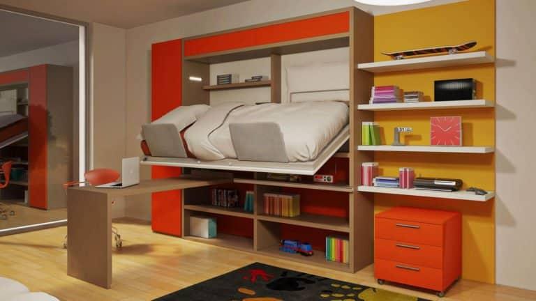 lit escamotable mezzanine pour enfant et adolescent fonctionnement