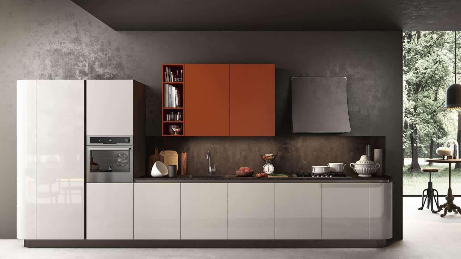 Meuble De Cuisine Arrondi cuisine arrondie   optimal cuisines & intérieurs   annecy