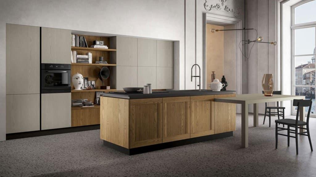 cuisine bois style industriel