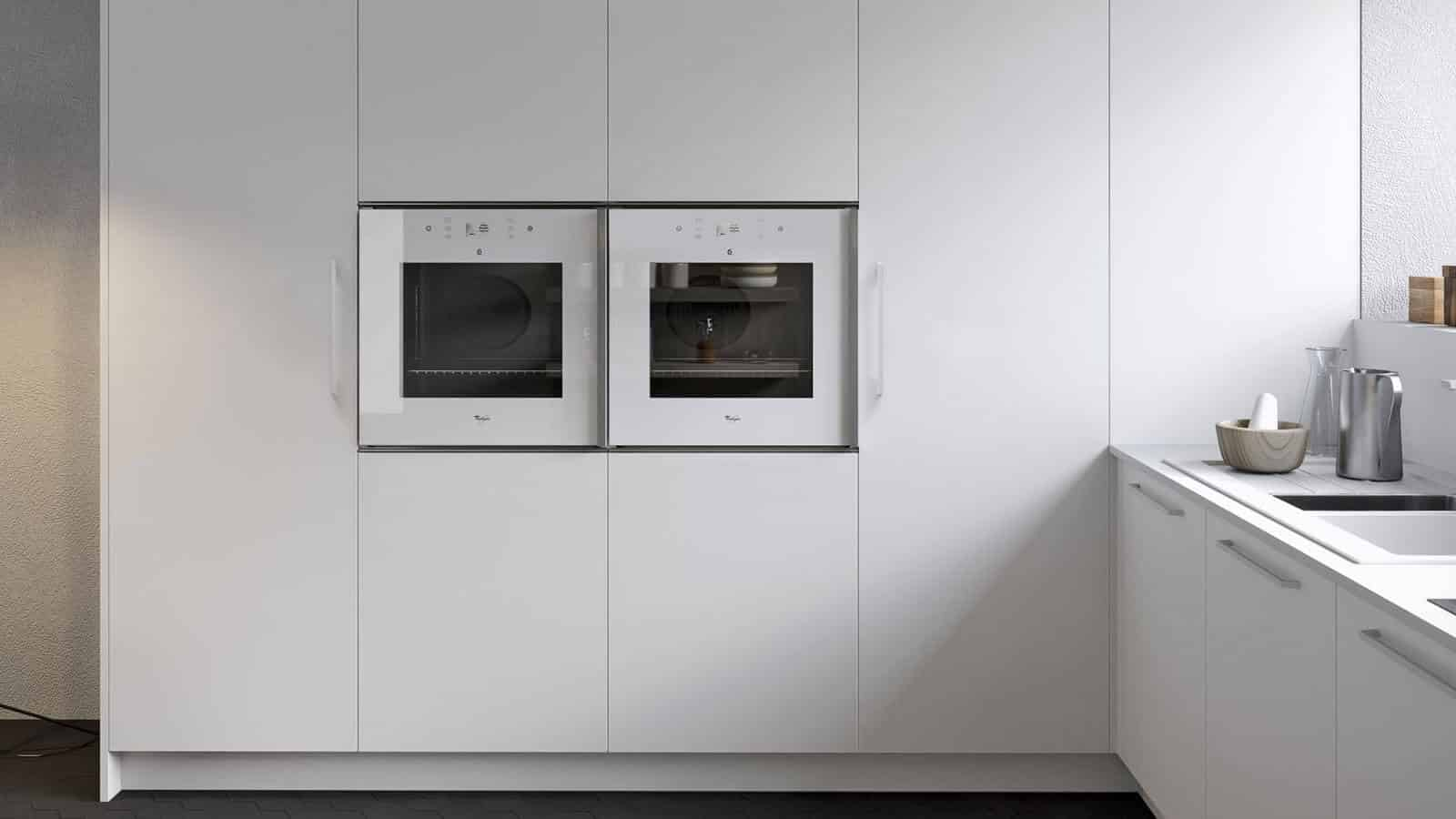 Remarquable Cuisine blanche | Fabrication Italienne | Optimal Annecy BY-16