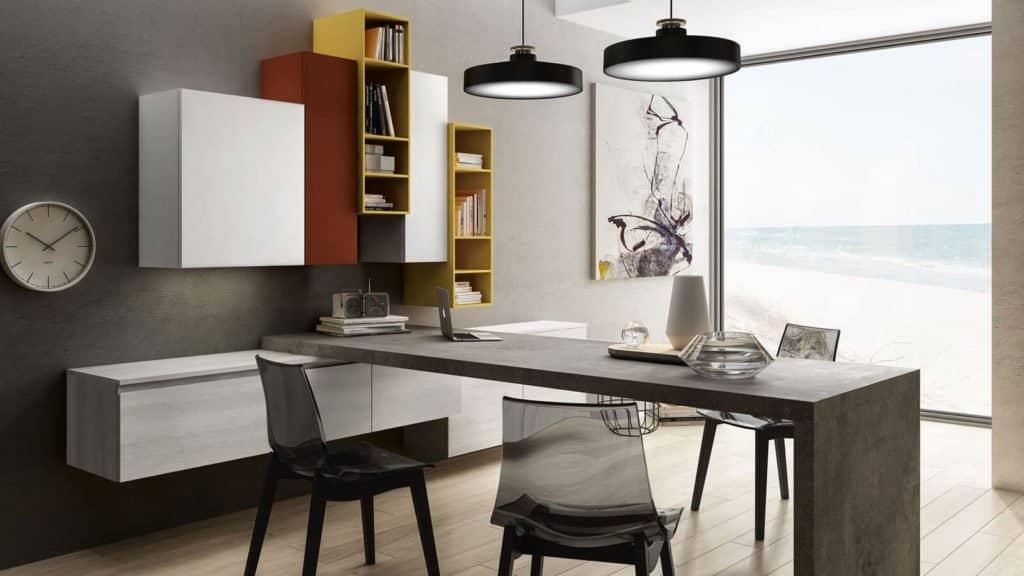 table salon cuisine laquée blanche maximat