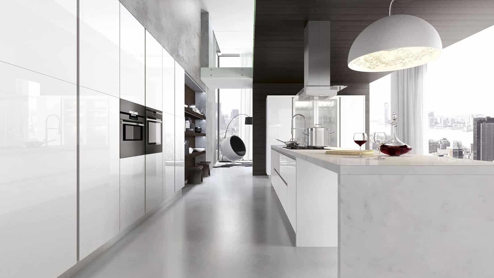 Cuisine Blanche Fabrication Italienne Optimal Annecy