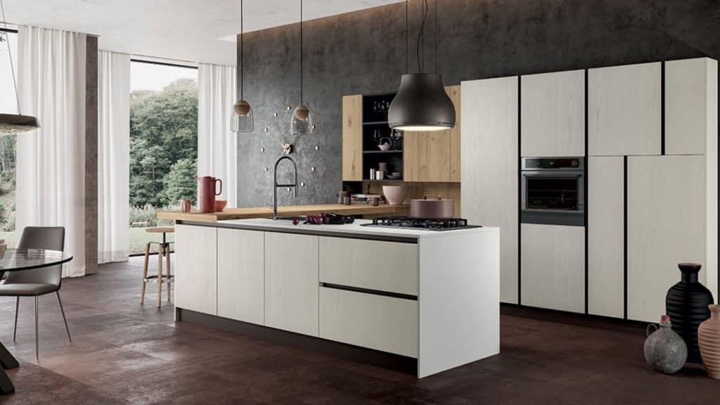 cuisine bois blanc bois clair