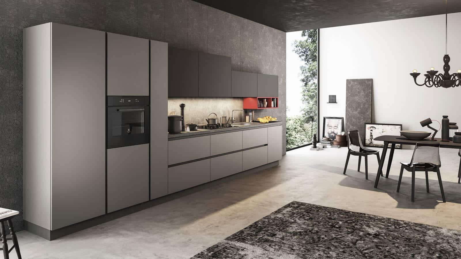 Cuisine Laquée Grise cuisine laquée | optimal cuisines & intérieurs | annecy