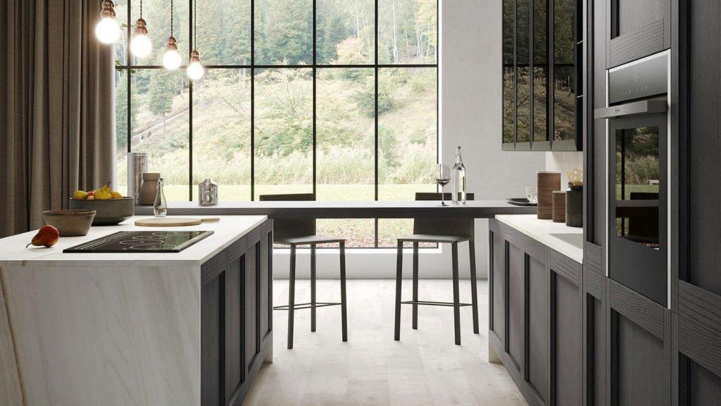 cuisine style industriel table