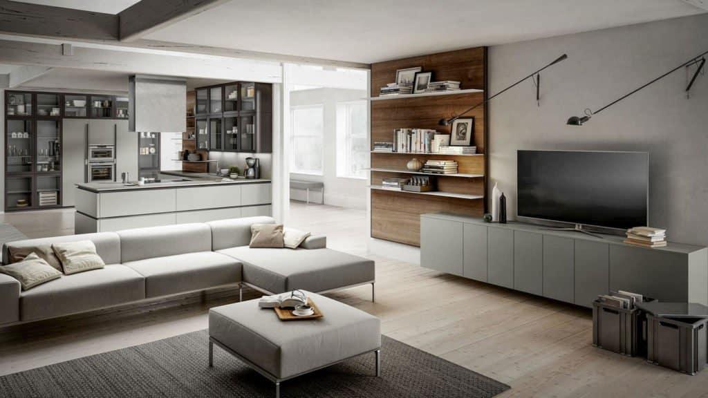 salon et cuisine design optimal