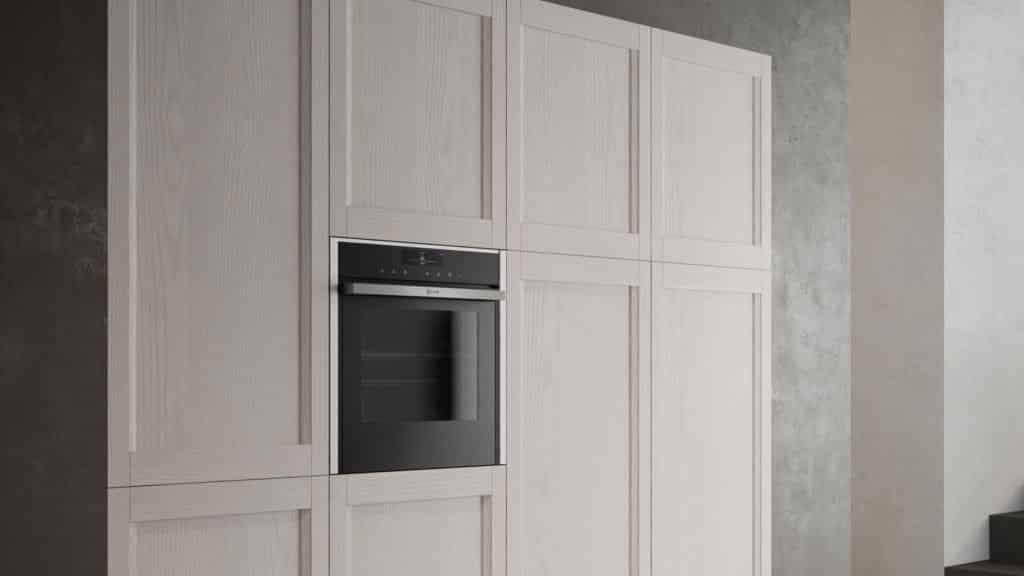 meubles cuisine style industriel bois blanc