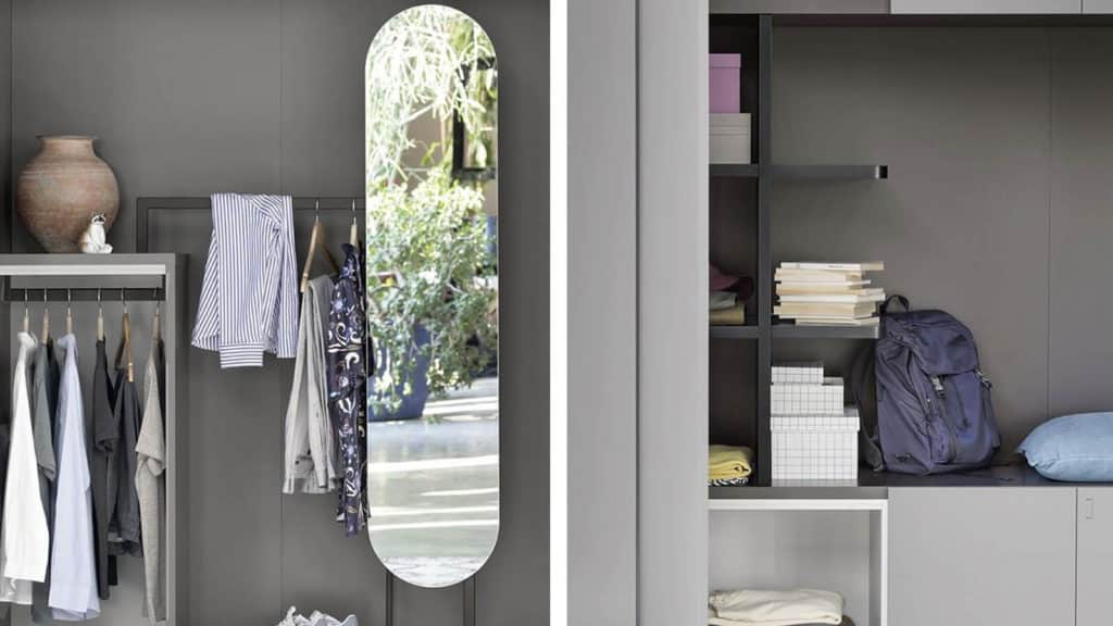 accessoires armoire sur-mesure miroir