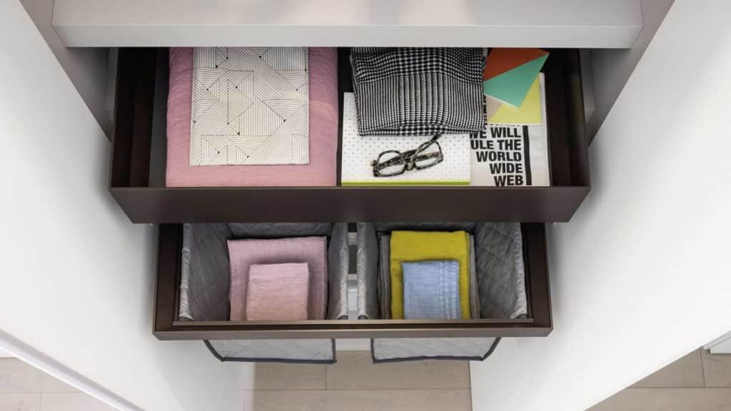 armoire sur-mesure accessoires rangements