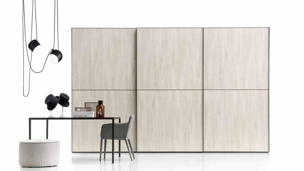 armoire coulissante bois