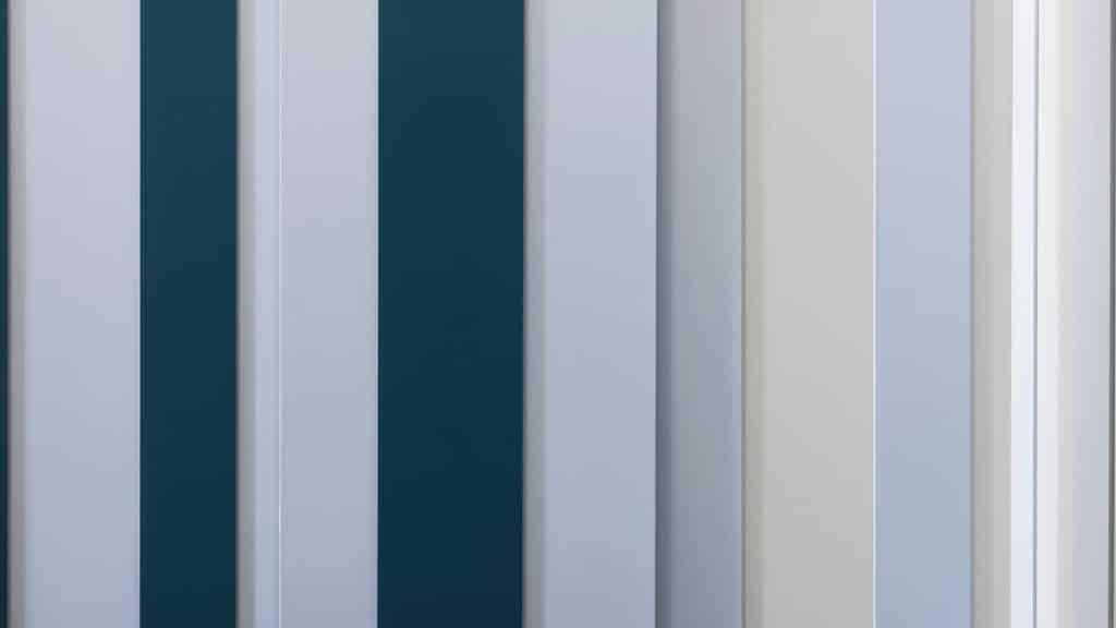 armoire angle laque mate bleue