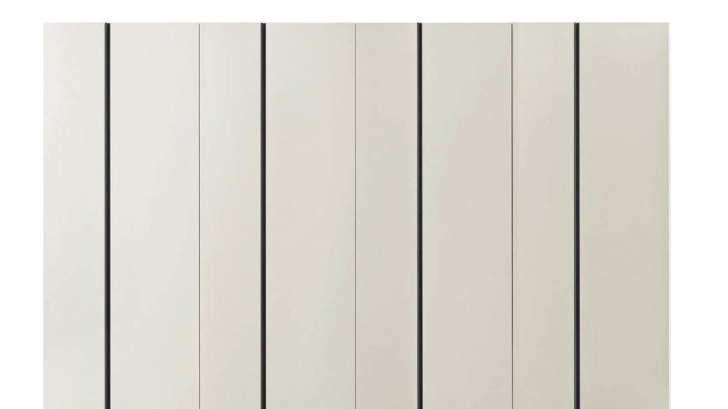 armoire battante laquée blanche