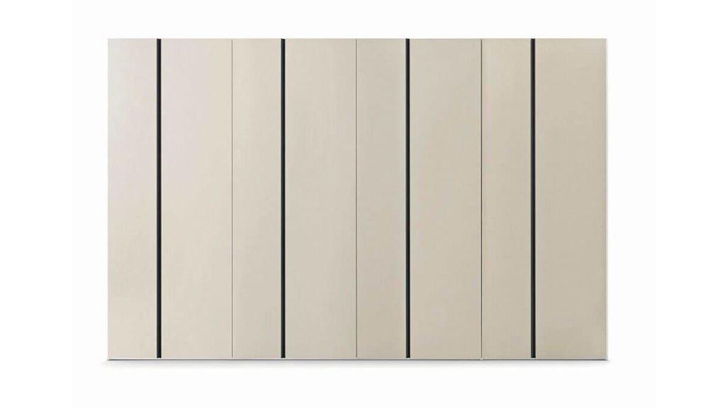 armoire laque mate portes battantes