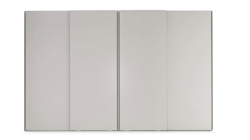 armoire portes coulissantes gorges grises