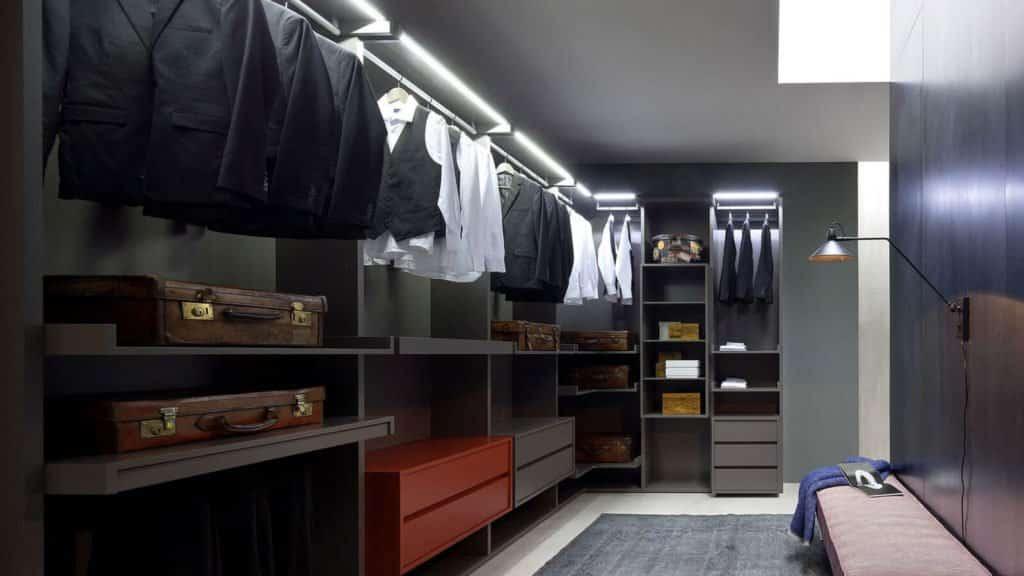 dressing ouvert moderne
