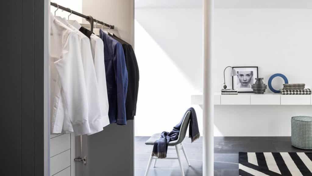 penderie blanche armoire sur-mesure