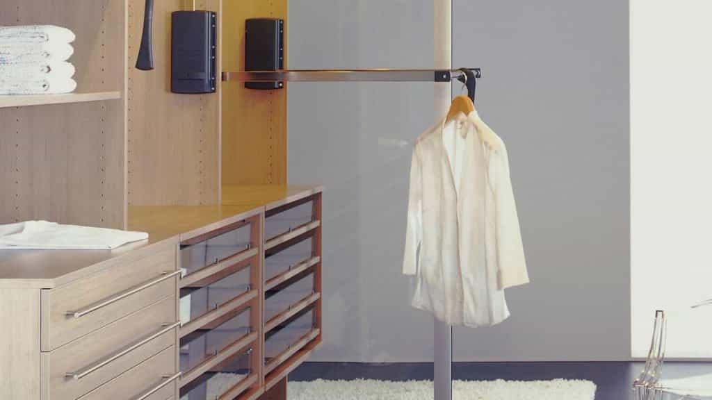 penderie aménagement dressing accessoires