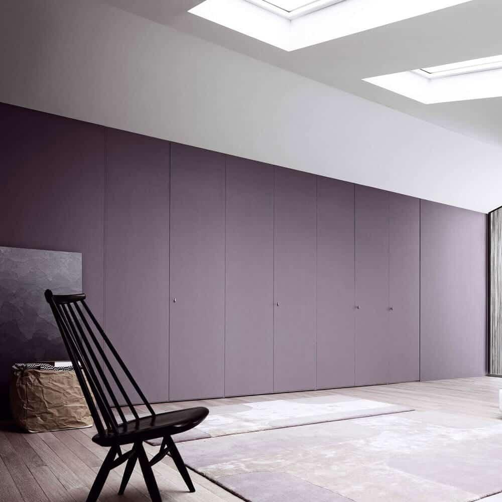 placard melamine violet