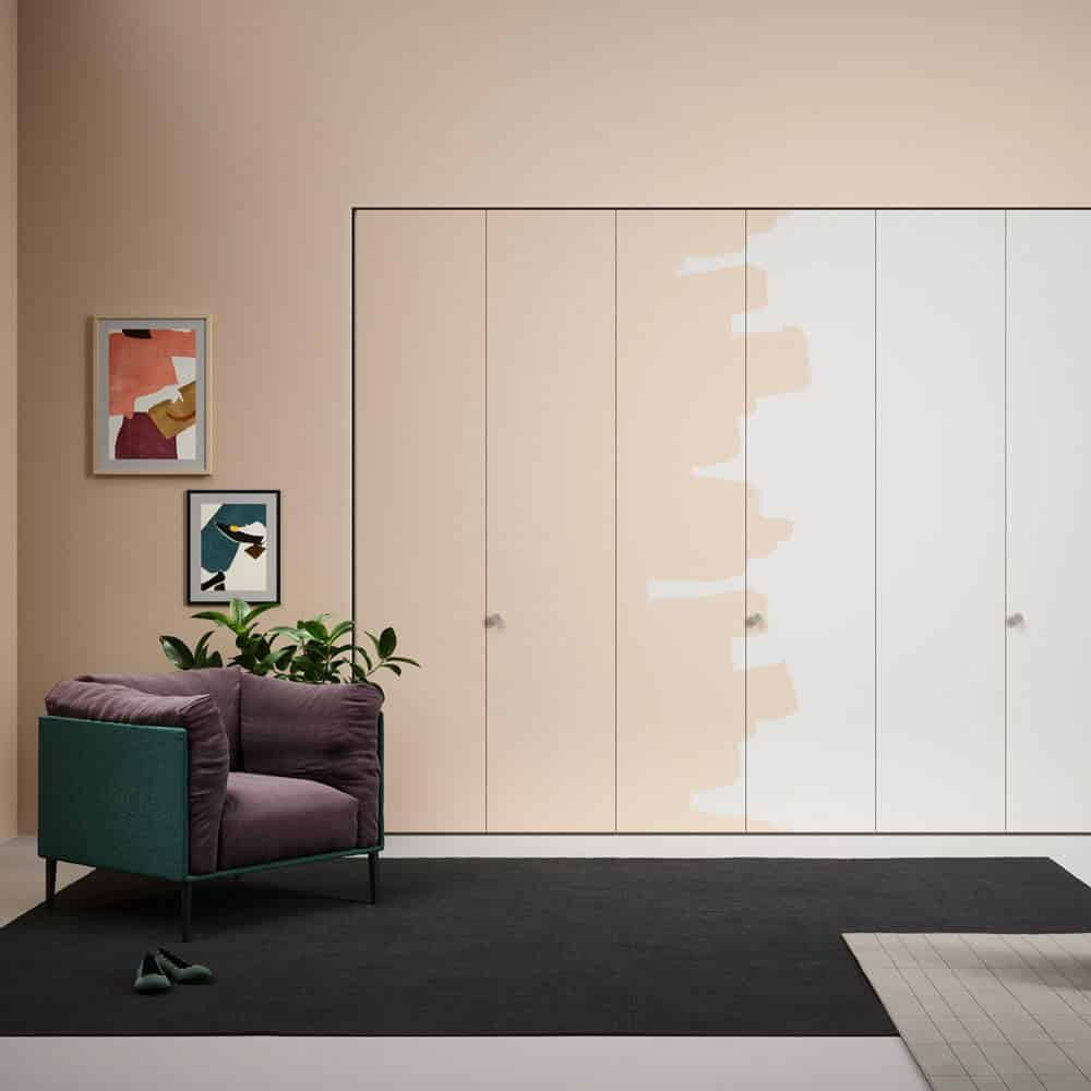 Porte de placard battante rangements optimal annecy - Peindre des portes de placard ...