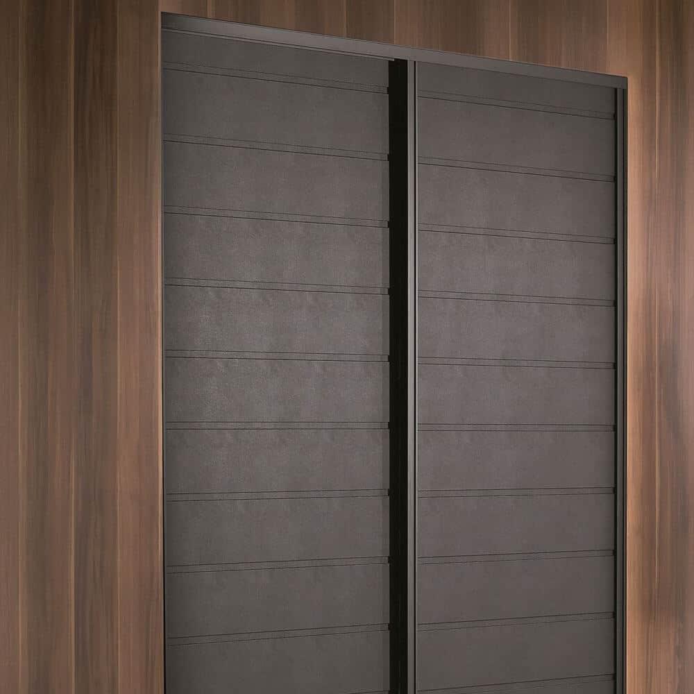 placard portes coulissantes lambris bois