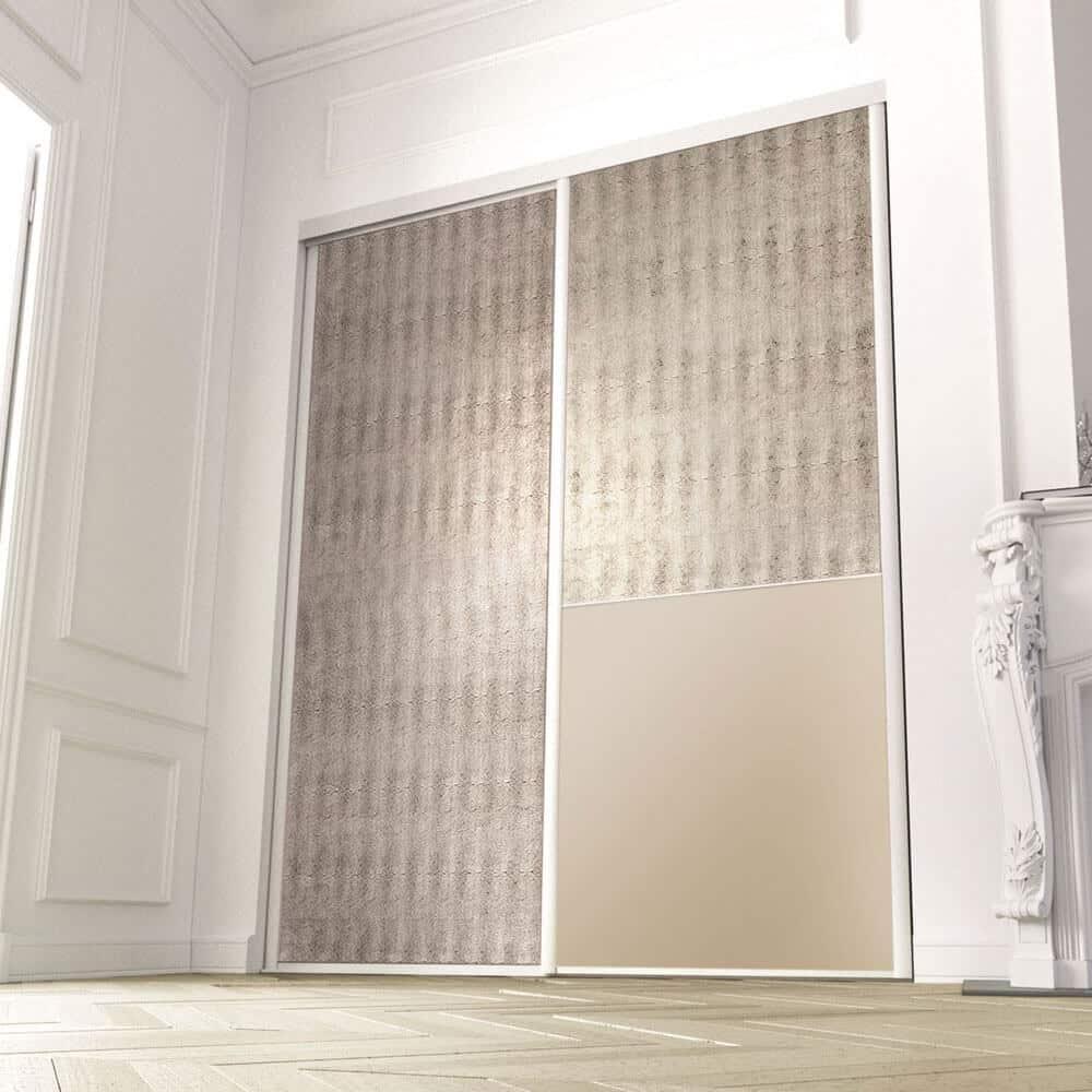 placard portes coulissantes matières