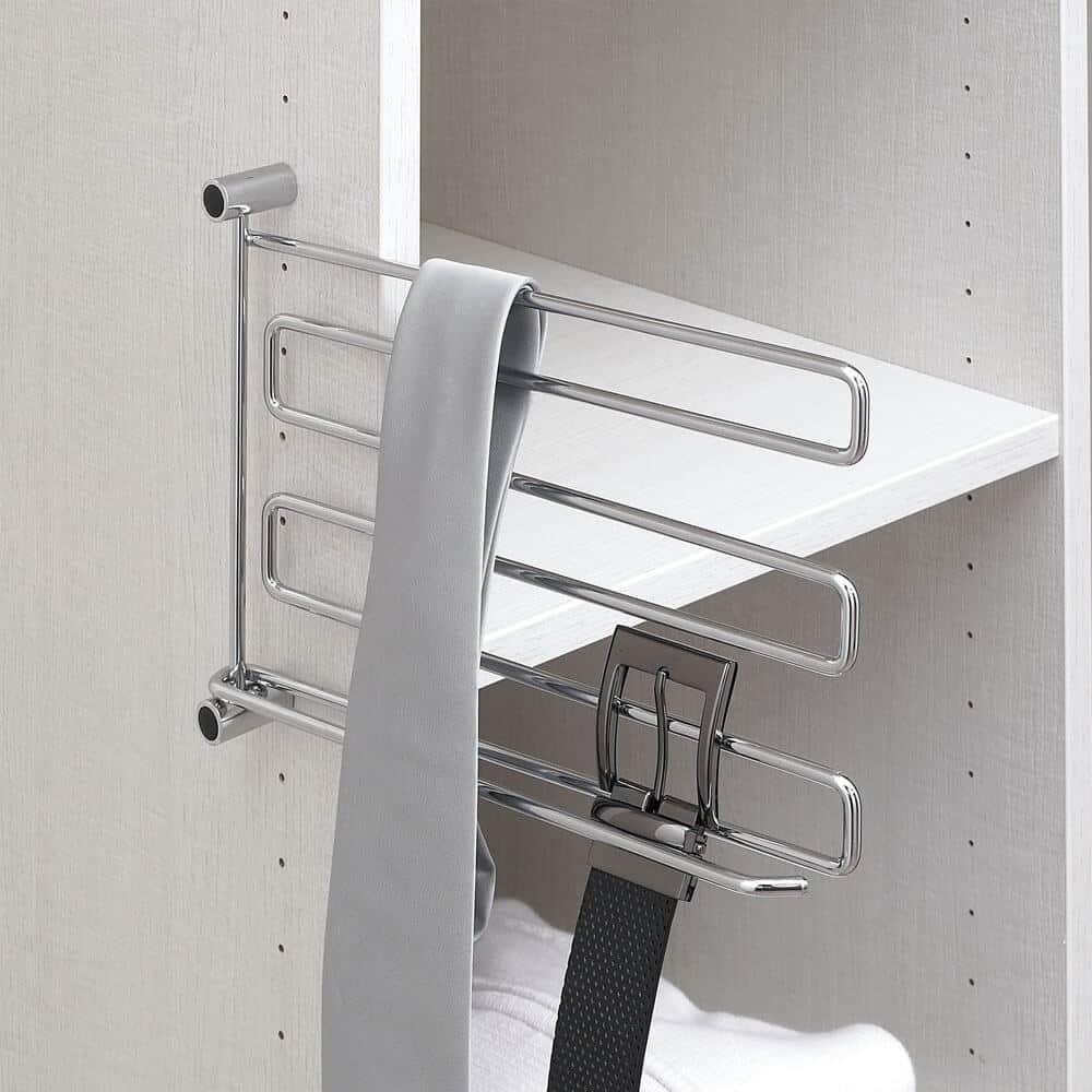 porte cravate ceinture pivot aménagement placard