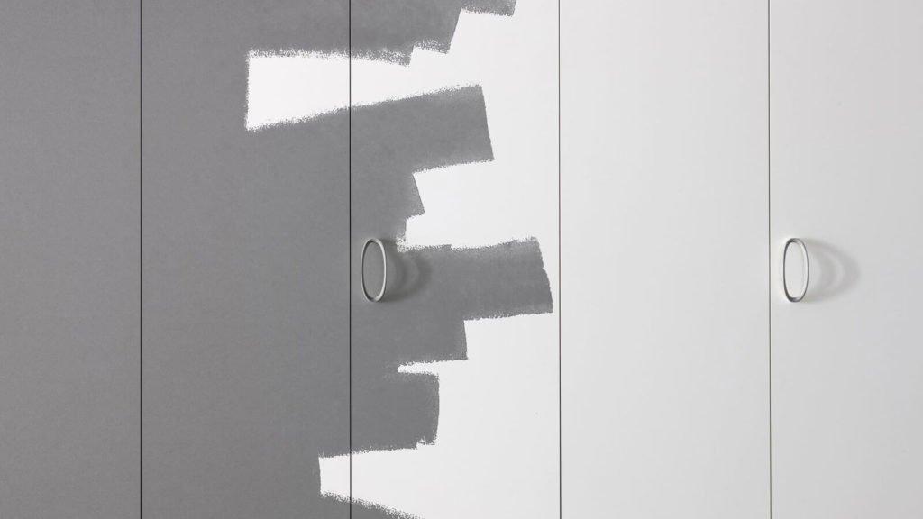 portes battantes armoire à peindre