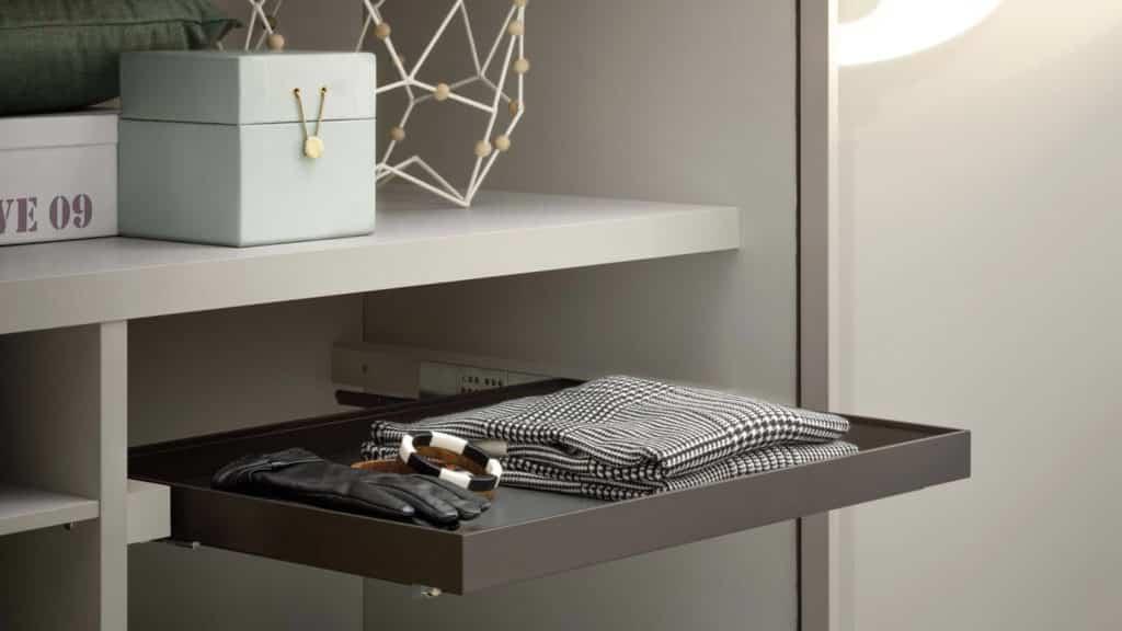 rangements accessoires armoire sur-mesure