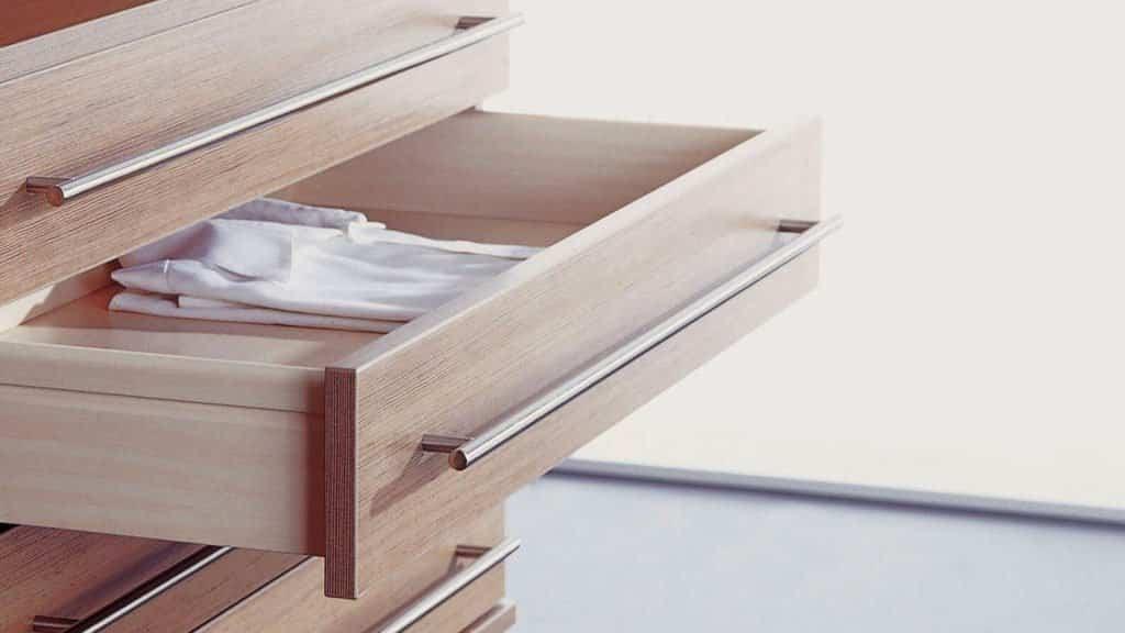 tiroirs bois aménagement dressing