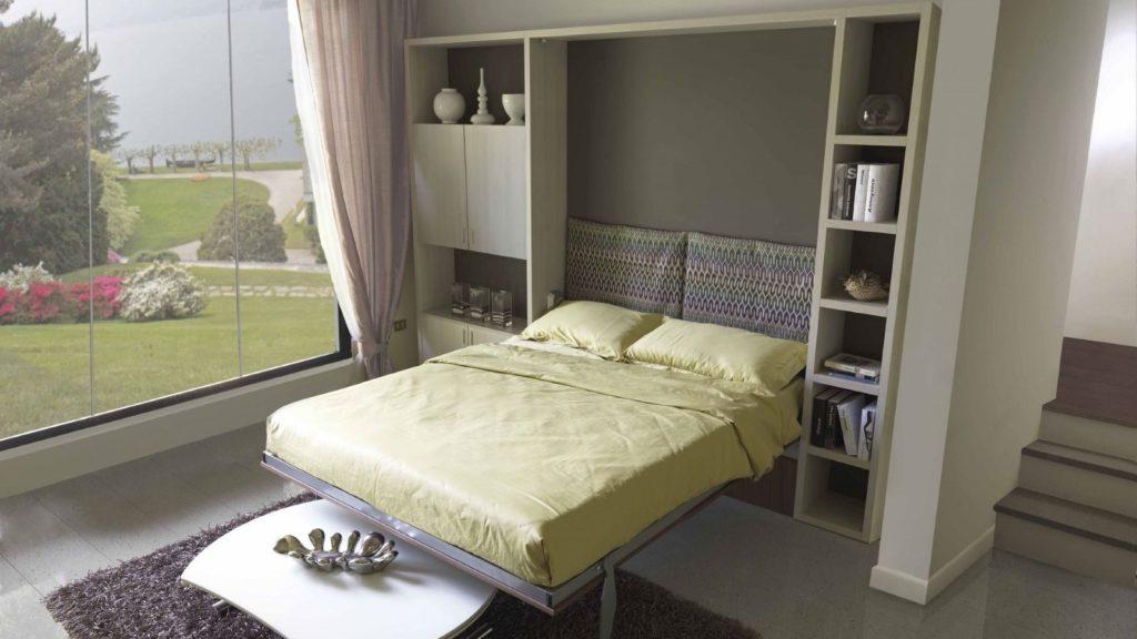 lit escamotable avec moteur
