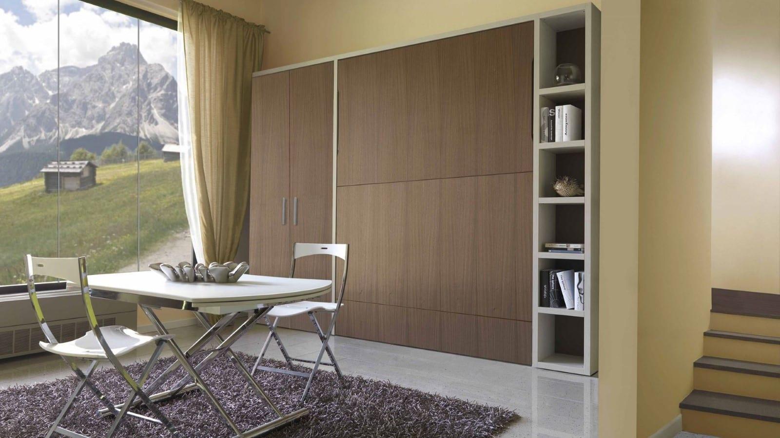 Placard Avec Lit Integre l'armoire lit escamotable par le spécialiste du gain de place