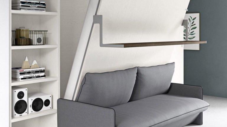 lit escamotable canapé