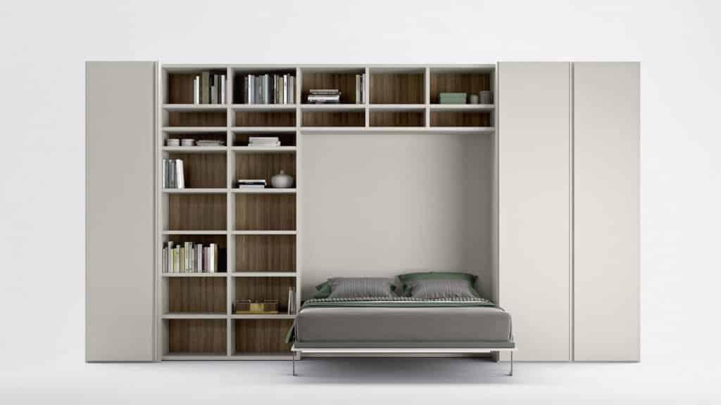 L 39 armoire lit escamotable par le sp cialiste du gain de place - Lit armoire escamotable electrique ...