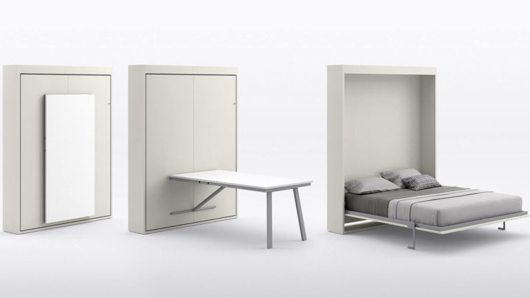 lit escamotable table