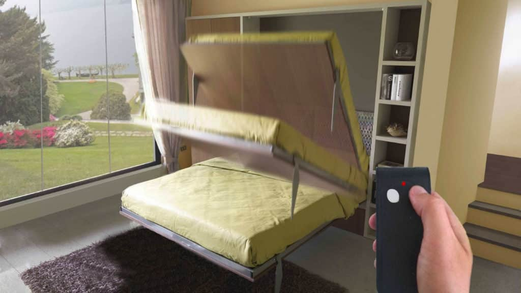 lit escamotable Aix avec moteur électrique