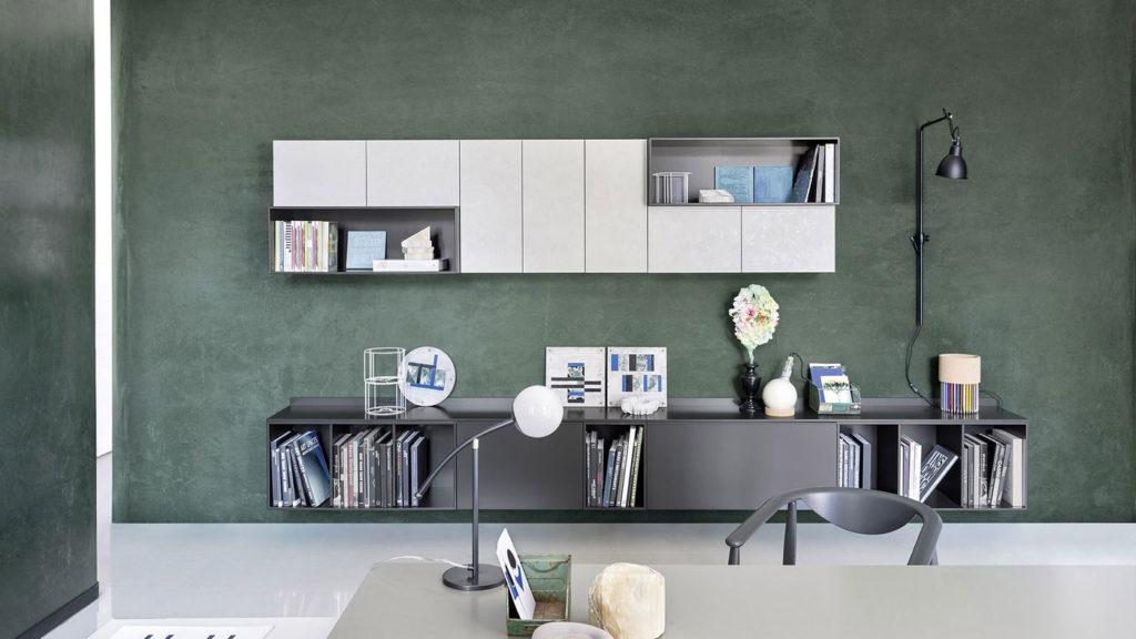 meuble salon gris