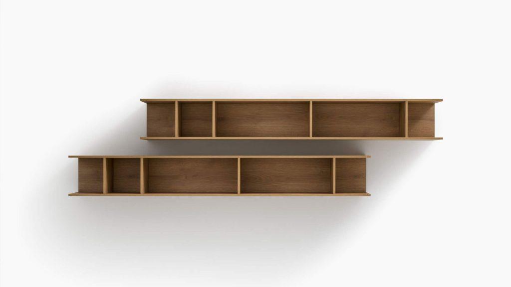 bibliothèque design thonon bois
