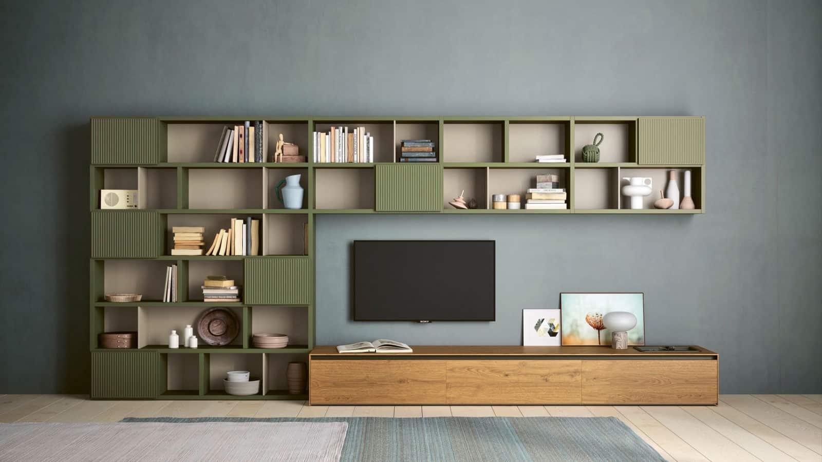 Meuble Tv Bibliotheque Salon Optimal Annecy