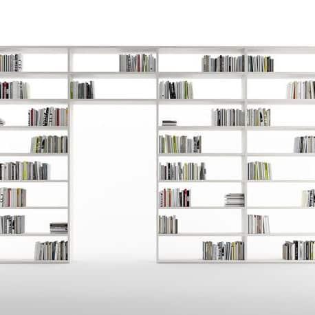 bibliothèque bi face