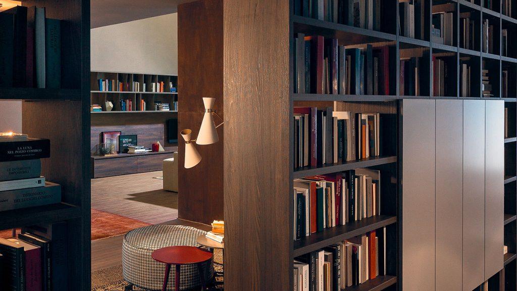 bibliothèque bois annecy