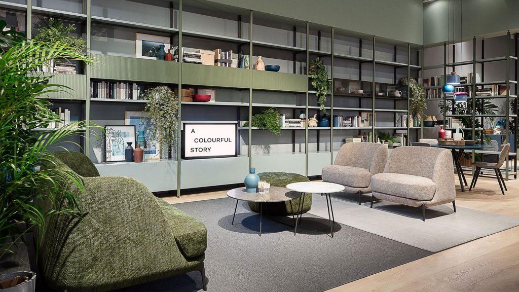 bibliothèque design genève pontile vert