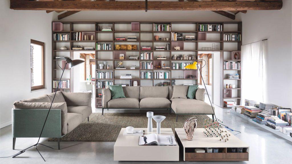 meuble de salon bibliothèque