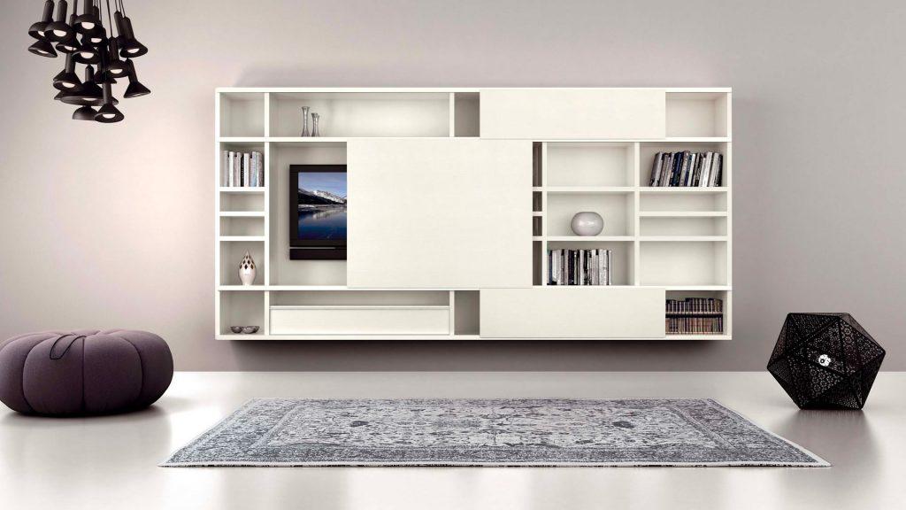 meuble cache télé