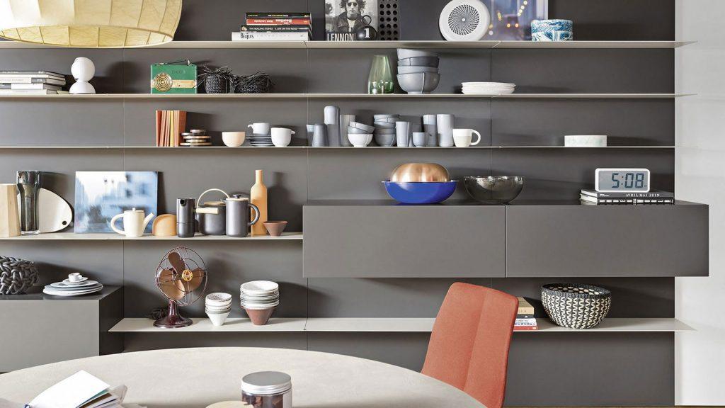 mobilier de salon design gris chambéry