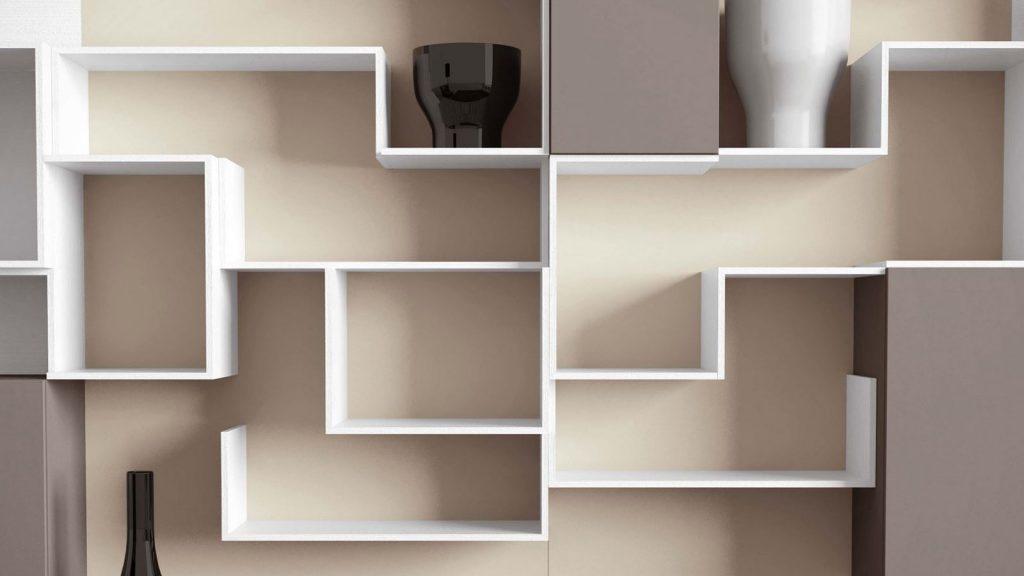 meuble de salon design tempo